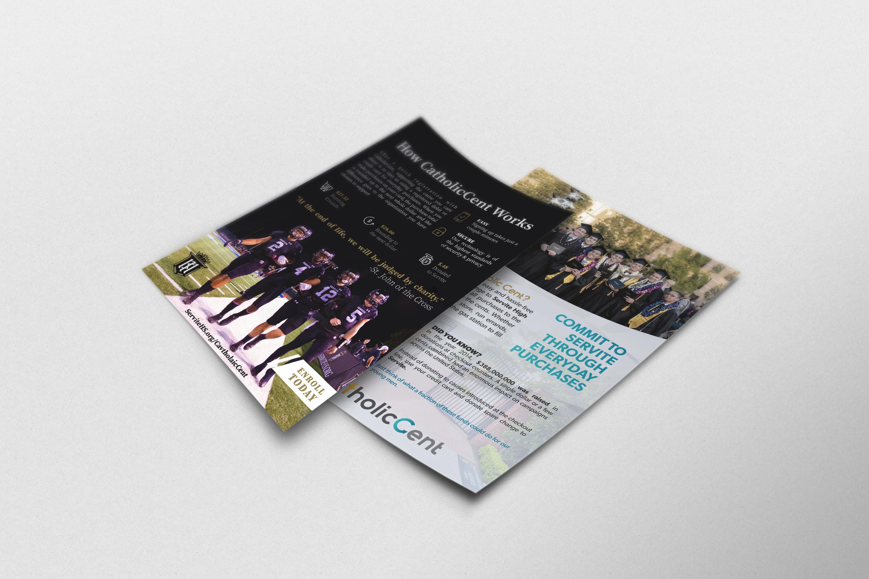 Servite HS sample flyer